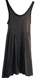 Free People short dress Stone Silver Sparkle Flowy on Tradesy