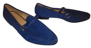 Lands' End Lands Size 8 Suede Blue Mules