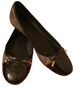 Tory Burch Smoke Roccia/Black Flats