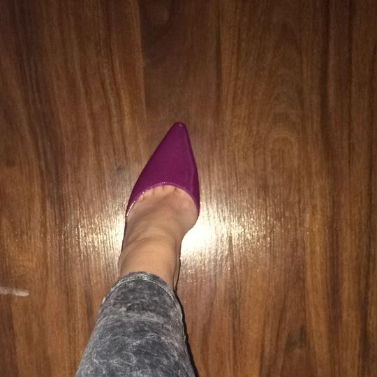 Calvin Klein Violet/magenta/purple Pumps
