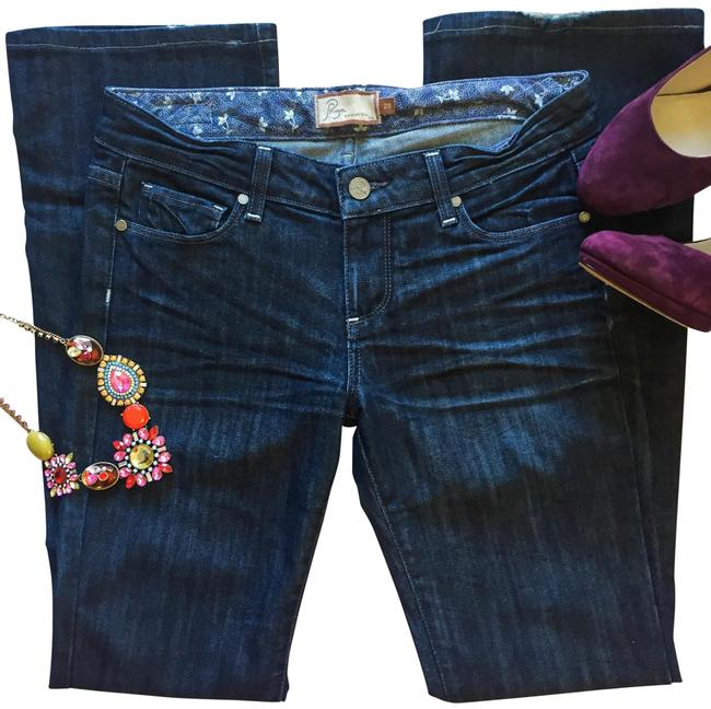 Preload https://img-static.tradesy.com/item/15946627/paige-dark-rinse-benedict-canyon-boot-cut-jeans-size-28-4-s-0-6-650-650.jpg