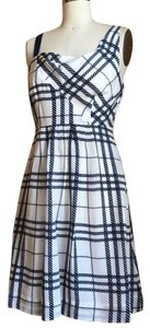 Moulinette Soeurs short dress White and blue on Tradesy