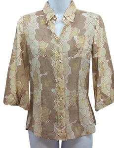 Coast Cotton Blouse Button Down Shirt