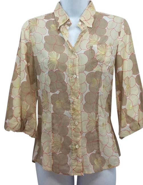 Preload https://img-static.tradesy.com/item/15947041/coast-printed-cotton-blouse-40-button-down-top-size-4-s-0-1-650-650.jpg