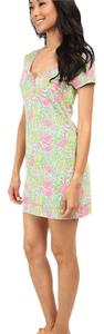 Lilly Pulitzer short dress Pink, green, white, yellow on Tradesy