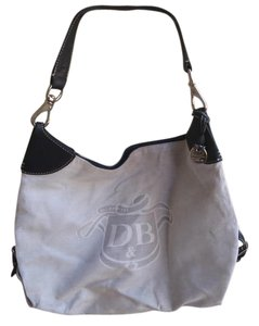 Dooney & Bourke Hobo Tote in Cream.off white