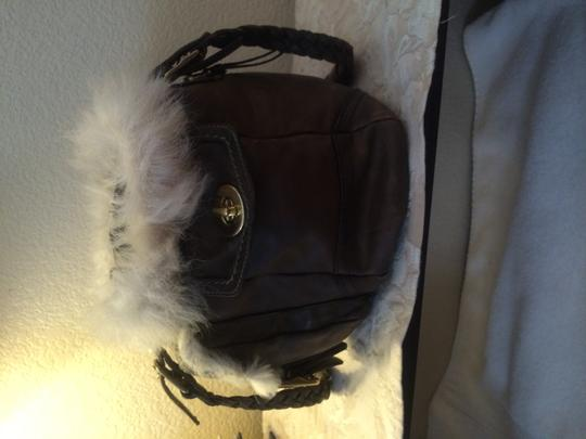 Coach Handbag; Tote in Brown/taupe