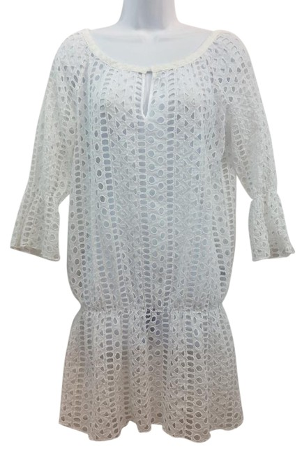Preload https://img-static.tradesy.com/item/15947815/white-eyelet-cotton-above-knee-short-casual-dress-size-10-m-0-1-650-650.jpg