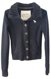 Abercrombie & Fitch navy blue Jacket