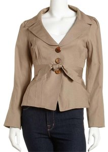 Nanette Lepore Party Time Taupe Jacket
