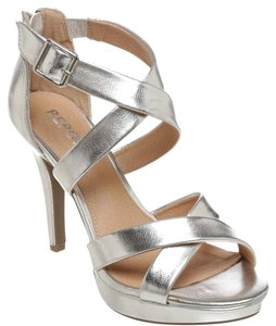 REPORT Silver Sandals