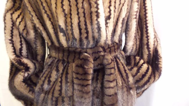 Millers Furs Mink Sable Fur Coat Image 2