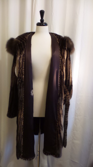 Millers Furs Mink Sable Fur Coat Image 7