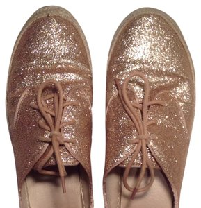 Forever 21 Gold Flats