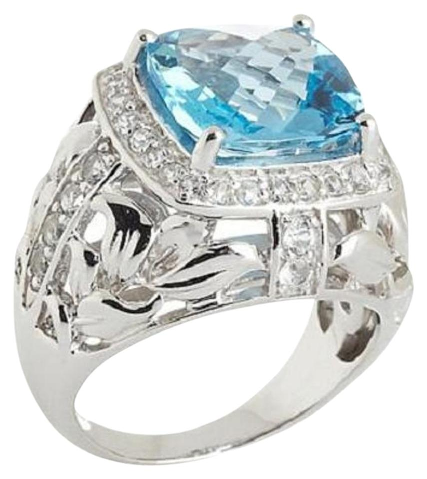 Swiss Blue Topaz Ring Victoria Wieck
