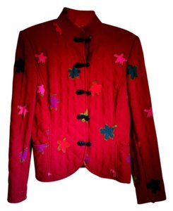 Emanuel Ungaro Red Jacket