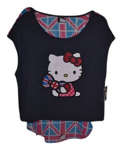 Hello Kitty Top gray/multi-color
