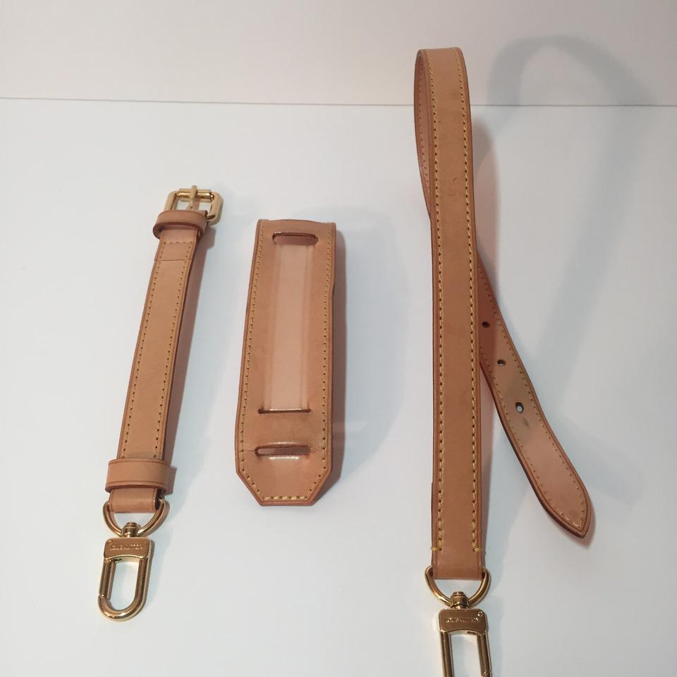 84a8c3c970011 Louis Vuitton 3 Piece Adjustable Shoulder Luggage Keepall Strap Image 11.  123456789101112