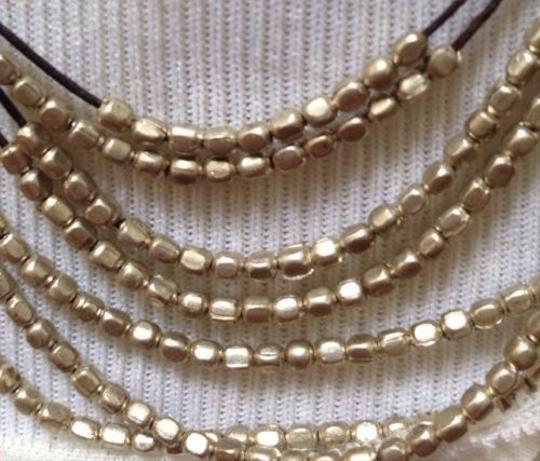 Other Silver Beaded Layered Necklace Image 1