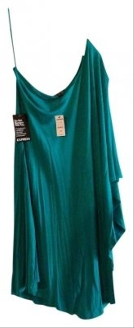 Preload https://item4.tradesy.com/images/express-teal-above-knee-night-out-dress-size-4-s-159503-0-0.jpg?width=400&height=650