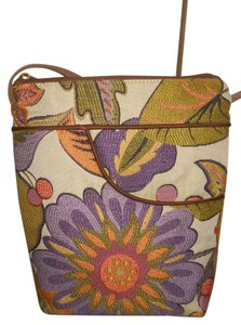 Danny K Beverly Hills Tapestry Floral Cross Body Bag