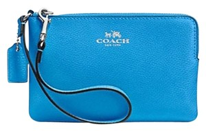 Coach Wristlet in Azure/Blue