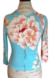 Etcetera Floral Spring Sweater