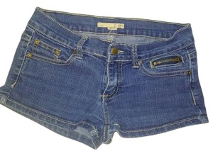 2.1 Denim Used Once Xs Free Shipping Denim Shorts-Dark Rinse