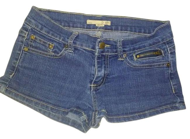 Preload https://img-static.tradesy.com/item/15950656/21-denim-blue-dark-rinse-collection-denim-shorts-size-26-2-xs-0-3-650-650.jpg