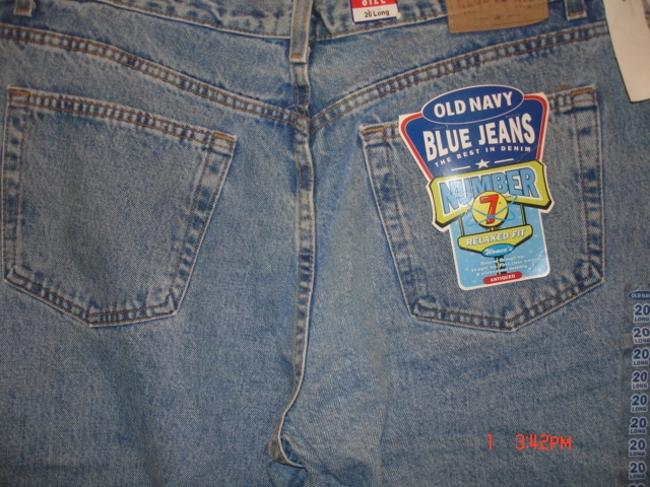 Old Navy Relaxed Fit Jeans-Light Wash Image 2