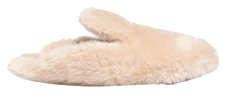 Madewell Faux-shearling Cream Faux-shearling Madewell Snow Cloud Slipper Mules/Slides aa3776
