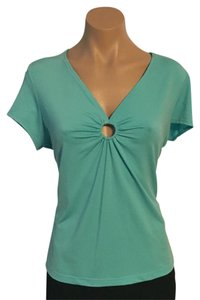 Uniform John Paul Richard Top Turquoise Blue