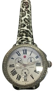 Michele MICHELE Serein Silver Dial Chrono Stainless Steel Ladies Watch Head MW21A01A1966