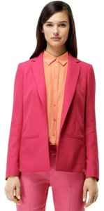 Club Monaco Staple Zip Pink Blazer