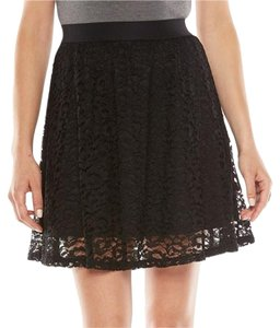 LC Lauren Conrad Skirt Black