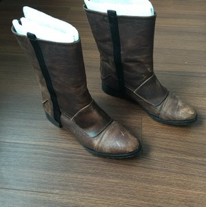 Elizabeth and James Shopbop The Row Ashley Olsen Brown Boots