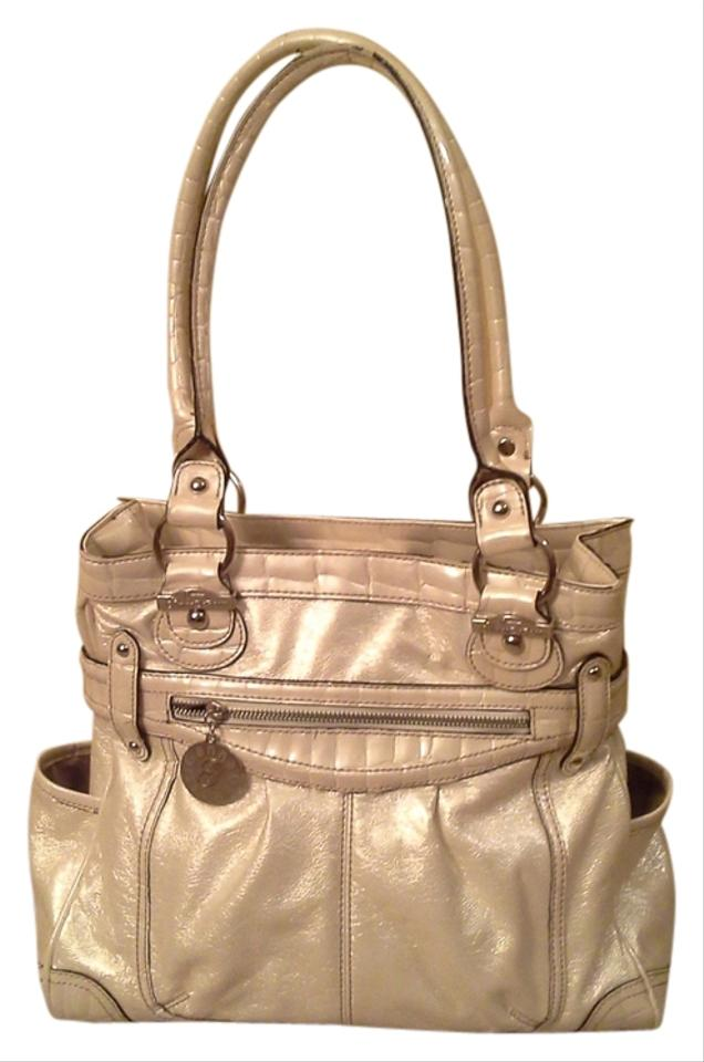ea0ed45bc565 Genna de rossi white beige off white purse shimmery metallic shoulder bag  jpg 636x960 Jenna de