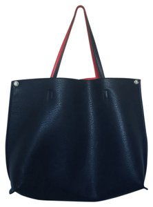 Free People Tote in Navy/Pink