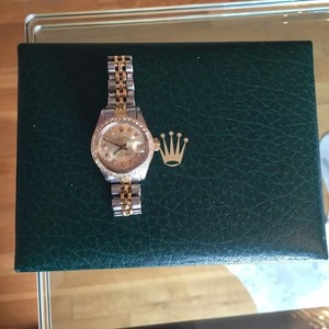 Rolex Rolex Ladies Date Just two tone
