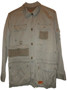 Ralph Lauren Cotton Machine Washable Waist-cinch Cord Sage Pet+smoke Free light sage(?) green Jacket