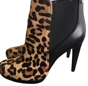 Calvin Klein Collection Black/ animal print Platforms