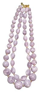 Joan Rivers Joan Rivers Set of 2 Lavender Bead Necklaces