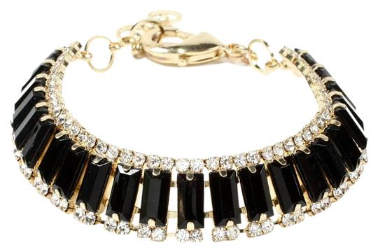 Preload https://img-static.tradesy.com/item/15954304/black-gold-nip-stones-clear-crystals-adjustable-bracelet-0-1-540-540.jpg