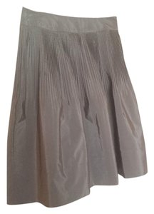 Banana Republic Skirt Silver