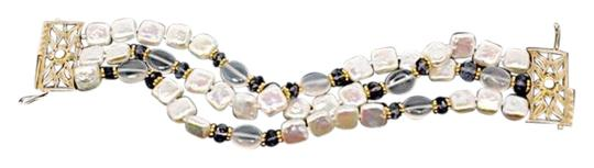 Preload https://img-static.tradesy.com/item/15954517/pearls-jaded-fresh-water-wbeautiful-gold-clasp-iolite-beads-725-l-bracelet-0-1-540-540.jpg