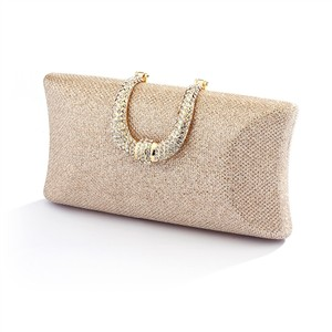 Stunning Rose Gold Blush Bridal & Special Occasion Minaudiere