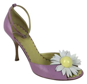 Moschino purple Sandals