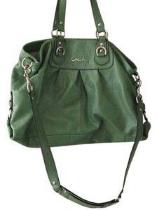 Coach Tote in Green