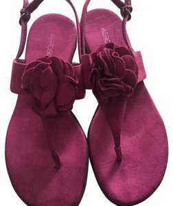 Aerosoles Purple/wine Sandals