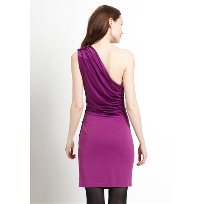 2b. RYCH Draped Asymmetrical One Shoulder Dress